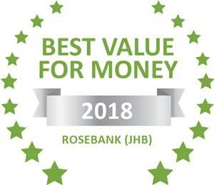 Sleeping-OUT's Guest Satisfaction Award. Based on reviews of establishments in Rosebank (JHB), 201 Macedon has been voted Best Value for Money in Rosebank (JHB) for 2018