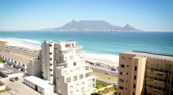 View of Table Mountain from apartment