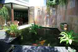 Koi Pond welcomes you into this tranquil beautiful environment.