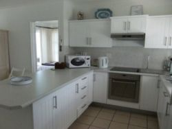 Fully equipped open plan kitchen