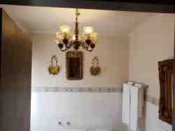 Bathroom in The Dahlia Cottage