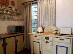 Kitchenette in The Dahlia Cottage