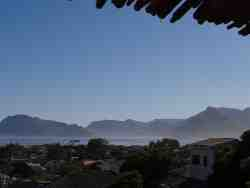 View towards Hout Bay and Table Mountain