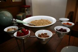 Breakfast is included in all our rates.