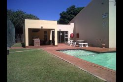 Pool and Clubhouse with Braai Facilities