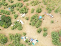 3 Provinces Campsite - View from the air