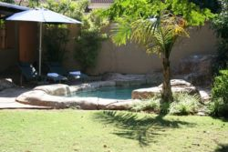 Pool for guests to enjoy during stay under the Durban sun!!!!