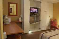 Double Bedroom.. TV, DVD and Fridge