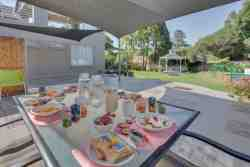 Enjoy a delicious continental breakfast whilst taking in the tranquil garden