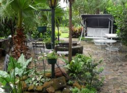 We have a braai area where guests can enjoy their own barbecue.