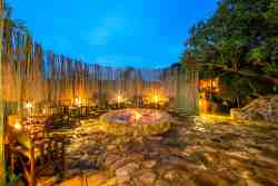 Boma outdoor fireplace