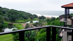 Sea views from Imbali Lakes Penthouse balcony.  Enjoy the views while you watch the Fish Eagle fly over.