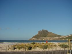 Hout Bay viewed from the path