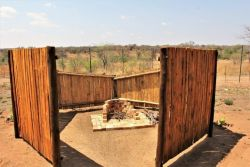 Private Boma at each Cabin