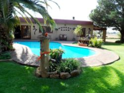 We are situated on a small holding, 8 km South of Bloemfontein.  Tranquility and peace is what you can expect at A Cherry Lane.