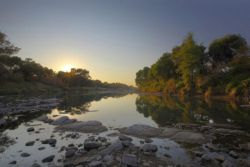 Sunrise on the Limpopo River by Hannes Thirion