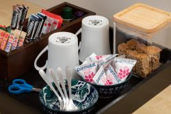 Coffee/Tea Tray in rooms