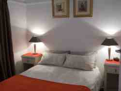 Apt no 5 - bedroom with double bed.