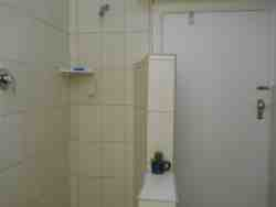 Apt no 5 bathroom with large shower