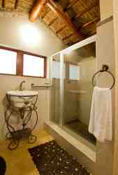 Bathrooms of the tented units- Ituri 1 & 2...