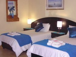 Blue Room with 3/4 beds and en-suite bathroom