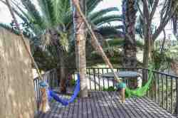 Elevated Deck with Hammocks