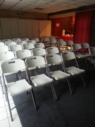 One of our two conference venues.  Can seat up to 60 delegates each.