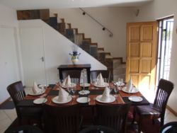 Dining room & staircase upstairs