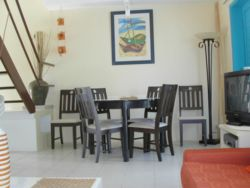 Dining room Apartment Forgetti in Pereybere