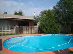 Swimming pool to cool of from the Free State heat.