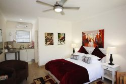 Venice:  Spacious double room with queen bed.  En-suite bathroom with shower.  Air-conditioning and satellite television.