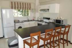 Deluxe kitchen with breakfast nook