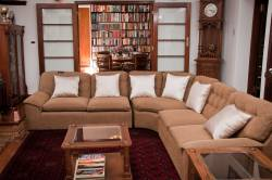 Our lounge offers a cosy place to retreat, enjoy our library with over 3000 books in both English and German.