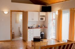 Self-Catering Unit - Lounge & Kitchen