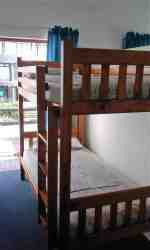 Apartment 3 - consists of double bed & 2 bunk beds.