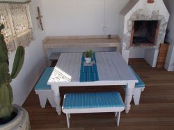 Downstairs Deck with Outdoor Braai