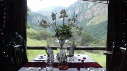 Book a romantic Gazebo dinner at the lodge