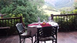 Book a romantic dinner at the lodge