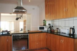 Part of kitchen - open plan with dining and lounge area - fully equipped