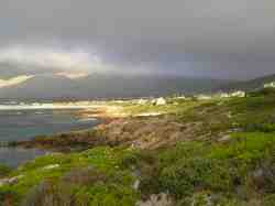 The coastline of Pringle Bay
