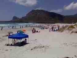Pringle Bay's swimming beach.