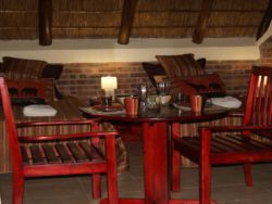 Can have your meal in the chalet