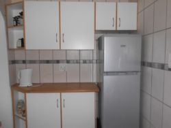 New kitchen has stove, microwave, fridge/freezer and is very well equipped.