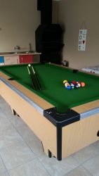 Entertainment room with braai & snooker table