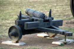 Famous canon that was used during the Battle of Blood River