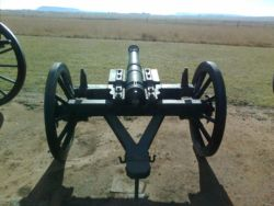 Andries Pretorius canon that was fired only ones during the Battle of Blood River