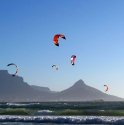 Kite Surging, Surfing and Wind surfing