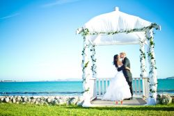 If your dream is to have a beach wedding, then Blue Bay Lodge is the venue for you
