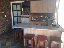 Open plan kitchen and family room, full dstv package, free wifi, lead onto garden