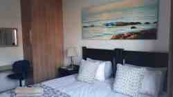 Blue Sea Unit 3 - two single beds can convert to form double king size bed.